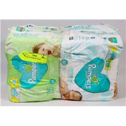 4 PACKS OF PAMPERS WIPES