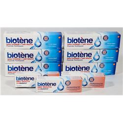 BAG OF BIOTENE MOISTURIZING GEL & TOOTHPASTE