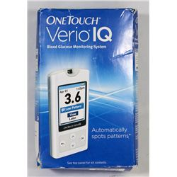 ONE TOUCH VERIO IQ BLOOD GLUCOSE MONITORING