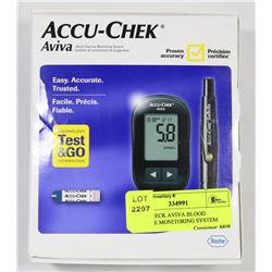 ACCUCHECK AVIVA BLOOD GLUCOSE MONITORING SYSTEM