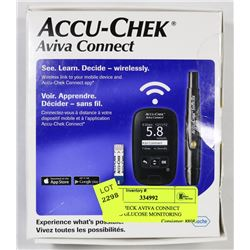 ACCUCHECK AVIVA CONNECT BLOOD GLUCOSE MONITORING