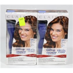 TWO BOXES OF CLAIROL ROOT TOUCH UP