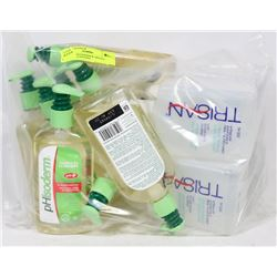 BAG OF PHISODERM & TRISAN FACIAL CLEANSERS