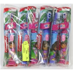 BAG OF ASSORTED BATTERY/POWERED TOOTHBRUSHES