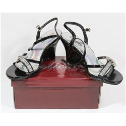 DELICACY BLACK SIZE 7 LADY'S SHOES STYLE NOMINEE-40