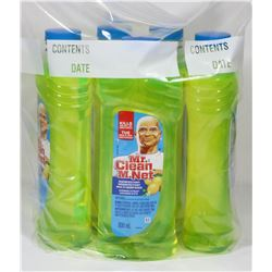 BAG OF 5 MR. CLEAN DISINFECTANT MULTI SURFACES