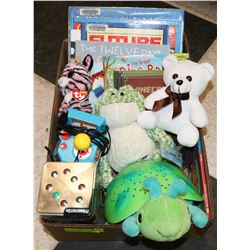 BOX W/KIDS BOOKS, CLOUD B TURTLE NIGHT-