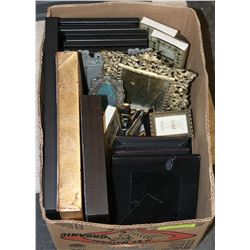 BOX W/LOTS OF NEW FRAMES (VARIOUS SIZES)