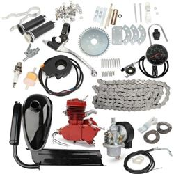NEW 80CC TWO STROKE GAS ENGINE KIT RED