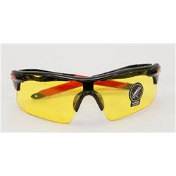 PAIR OF NIGHT DRIVING GLASSES