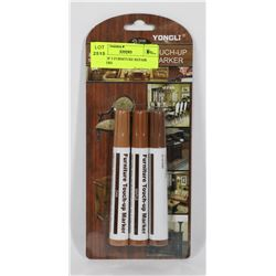 PACK OF 3 FURNITURE REPAIR MARKERS
