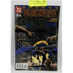 1# SPECIAL BATMAN BLACKGATE COMIC