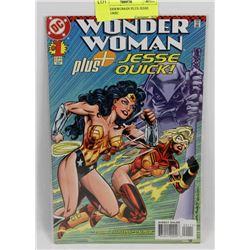#1 WONDER WOMAN PLUS JESSE QUCK COMIC