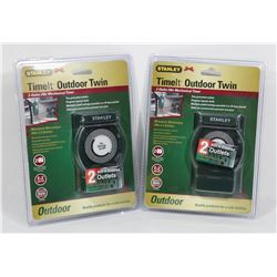 SET OF 2 SEALED STANLEY TIME IT