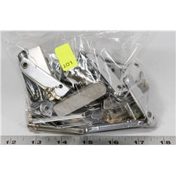 BAG OF ASSORTED KNIVES