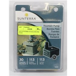 NEW SUNTERRA 30 GALLONS PER HOUR