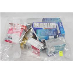 BAG OF ASSORTED STOOL SOFTENERS