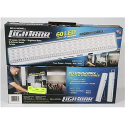 2 NEW RECHARGEABLE LIGHT BARS