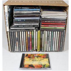 BOX OF ASST CDS INCL CHANTAL KREVIAZUK, TONY