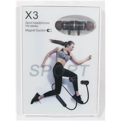 X3 WIRELESS SPORT HEADPHONES