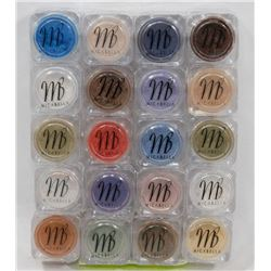 20 ALL DIFF MICABELLA EYE SHADOW SHIMMER POWDER