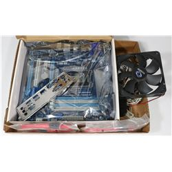 GIGABYTE MOTHERBOARD WITH ACCESSORIES