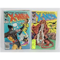 2 COLLECTORS COMICS - XMEN #195 & XMEN 187.