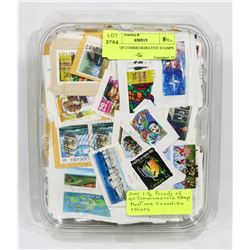 1.5LB OF COMMEMORATIVE STAMPS