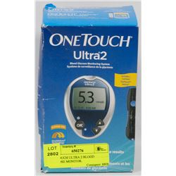 ONETOUCH ULTRA 2 BLOOD GLUCOSE MONITOR.