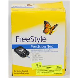 FREESTYLE PRECISION NEO BLOOD GLUCOSE AND KEYSTONE