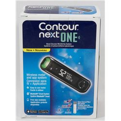 CONTOUR NEXT ONE BLOOD GLUCOSE MONITOR.