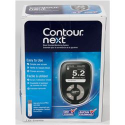CONTOUR NEXT BLOOD GLUCOSE MONITOR.