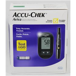 ACCU CHECK AVIVA BLOOD GLUCOSE MONITOR.