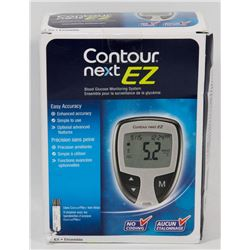 CONTOUR NEXT EZ BLOOD GLUCOSE MONITOR.