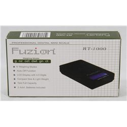 FUZION RT-1000 PROFESSIONAL DIGITAL MINI SCALE