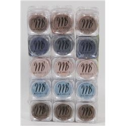 15 MICABELLA NATURAL MINERAL EYE SHADOW ASSORTED