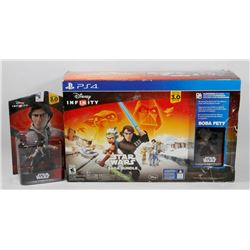 PS4 DISNEY INFINITY STAR WARS SAGE BUNDLE INCLUDES