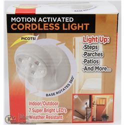 NEW! MOTION ACTIVATED CORDLESS LIGHT