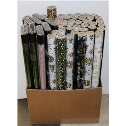 CASE OF ASSORTED WRAPPING PAPER.