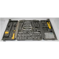 PARTIAL TOOL SET IN HARD CASE