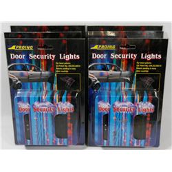BOX OF 5 DOOR SECURITY LIGHTS
