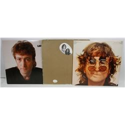 LOT OF 3 JOHN LENNON  RECORDS INCLUDING WALLS AND