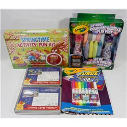 NEW SPRING ITEMS CRAYOLA ITEMS