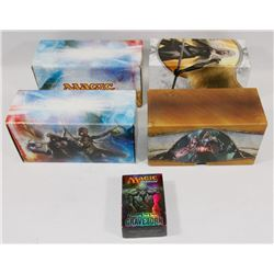 LOT OF 4 BOXES OF MAGIC THE GATHERING CARDS