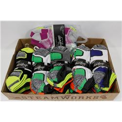 FLAT OF NEW 36 PAIRS OF ANKLE