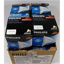 8 PHILIPS MASTER COOL LIGHT-LIGHT  BULBS