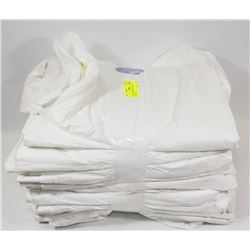 14 NEW PROTECTIVE  DISPOSABLE COVERALLS
