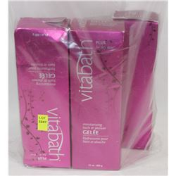 BAG OF VITABATH BATH AND SHOWER GEL