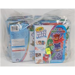 BAG OF CRAYOLA KIDS COLOURING SETS