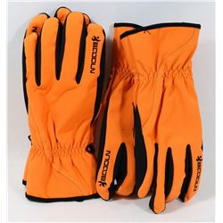 BOODUN LOT OF 2 LG WINTER SKI GLOVES, WATERPROOF,